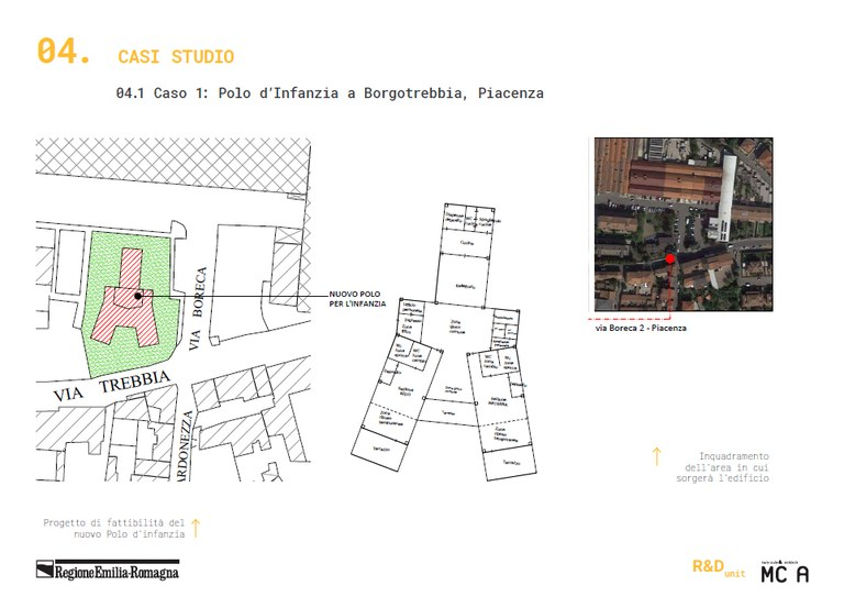 04.1 Caso 1: Polo d'Infanzia a Borgotrebbia, Piacenza (1)