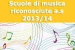 Scuole di musica riconosciute a.s. 2013/14