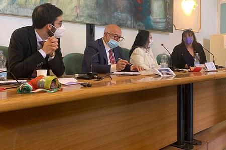 Taglio del nastro per la succursale dell'Istituto Tecnico Tecnologico G. Marconi a Sarsina (FC)