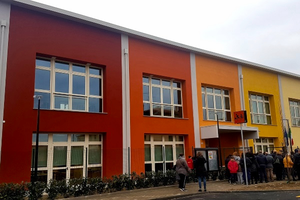 Inaugurata a Mascarino di Castello d'Argile, nel bolognese, la nuova scuola primaria Pace Libera Tutti