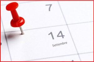 Calendario scolastico, lezioni al via lunedì 14 settembre