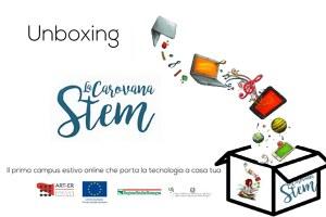Unboxing Carovana STEM, campus online sulle competenze digitali
